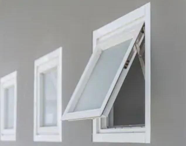 ventana vertical PVC