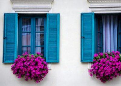 flores ventanas de pvc